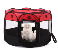 8-side Foldable Pet Tent House Cage Playpen For Small Pets - Pets The Best Boutique