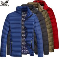 Fashion winter cotton-capped down Jacket Men clothing