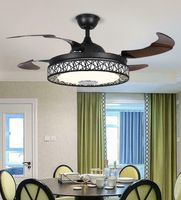 Modern LED light living room ring dimmable chandeliers