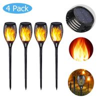 33/51/96 LED Solar Light Control Solar Flame Light-lights-Caravan Clan Gifts