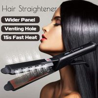 Flat Iron Ceramic Heating Plate Hair Straightener - Crown Lux Hair