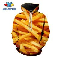 Yummy French Fries Hoodie - YummyPrints