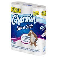 TOILET PAPER-CHARMIN ULTRA SOFT 2-PLY 154 SHEETS 12/PACK -  toiletpaperrus.myshopify.com