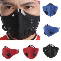 Bacteria-proof Sport Face Mask With Activated Carbon PM 2.5.