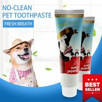 1PC Dog Cat Edible Toothpaste Special Cleaning Bad Breath Tooth Stain Pet Cleaning  Supplies 95g
