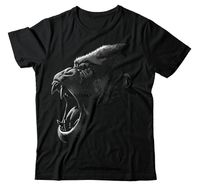 Call Of The Wild Gorilla Short Sleeve T-shirt - King Kong King Super Mall Outlet