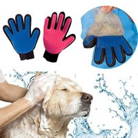 The new Cat Grooming Glove for Cats Pet brush Glove Cat cleaning Gentle Efficient Cat Grooming Glove Dog Bath Supplies Glove For Animal - Pet owners20.com