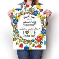 Autism is a Journey Wall Art Posters - Dating Disabled Store