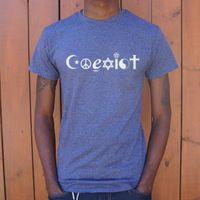 Coexist Symbols T-Shirts For Men, Dating Disabled Store,datingdisabled.store