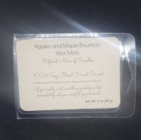 Apples and Maple Bourbon Wax Melts - Refined Man Of Candles