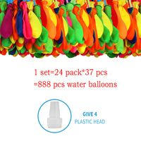 888pcs Water Bombs Balloon Filling Magic Balloon Children Water War Game Supplies Kid Summer Outdoor Beach Toy Party Gift Toy - EpiphanyRoad