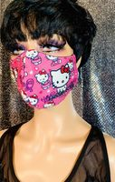 Hello Kitty Pink Face Mask - The Glamorous Life 101
