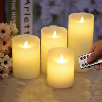 Flameless Remote Control Led Wax Candle-The Little Glass Frog