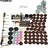 154pcs - Tool Accessory Set Fits For Dremel Drill Grinding Polishing Saw Blade - Home and garden  - Woodworking Tools - Homeandgardenig