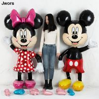 112cm Giant Mickey Minnie Mouse Balloon Cartoon Foil
