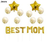 mothers day party decoration globos 16 inch rose gold letter