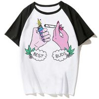 Fashion top Fit Sleeve Round Collar T-Shirt-The Exotic Life