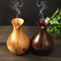 Creative Appearance USB LED Ultrasonic Aroma Humidifier Essential Oil Diffuser ABS PP Exquisite Aroma therapy Purifier new freeshipping - Aromatherapy diffueser