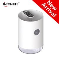 3000mAh Home Air Humidifier 1L Portable Wireless USB Aroma Water Mist Diffuser Led Battery Life Show Therapy Humidificador freeshipping - Aromatherapy diffueser