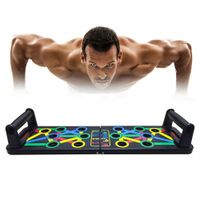 14 in 1 Push-Up Rack Board Training Sport Workout Fitness Gym Equipment Push Up Stand for ABS Abdominal Muscle Building Exercise freeshipping - Modern-Fitness-Kits