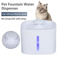 2L Pet Water Fountain Cat Swan Neck Pet Cat Dog Automatic Drinker Fountain Water Dispenser For Cats Dogs 2021 New freeshipping - aroco