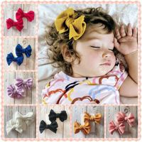 2PCS Set Baby Girl Hair Accessories Hair Bow Clips Pinwheel hairbows for Toddlers sweet girls Hairpins Hair Bow  Hair Clip - Txspend