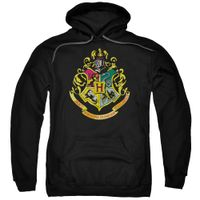 Harry Potter - Hogwarts Crest Adult Pull Over Hoodie - Frustrated Crafter