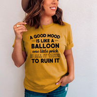 A Good Mood Tee by Peachy Sunday - Nice-to-have.net