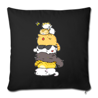 """Cats Meowtain Throw Pillow Cover 17.5"""" x 17.5"""" - Put An Animal On It"""