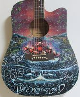 Dave Mathews Band Autographed Guitar - Zion Graphic Collectibles