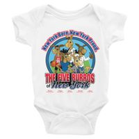 The Five Burros of New York©-Rabbit Skins-Infant Bodysuit - The Five Burros of New York
