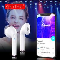 GETIHU Mini Twins Bluetooth Earphones Stereo headphones in Ear Buds wireless Earbuds handsfree Sport Headset For iPhone Samsung - Kool Cat Records T Shirts N More
