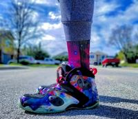 """Exclusive """"Galaxy"""" LE Custom Shoelaces - SNEAKERHEADS Clothing Line"""