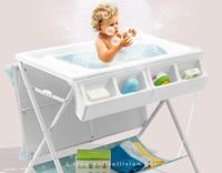 Baby changing table and Bath table - multi-function folding