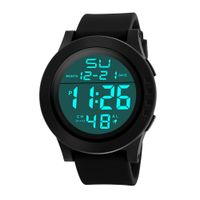 Military Luxury Sport Date Watches Fashion Men's LED Waterproof Digital Quartz - etisk ventures pvt ltd
