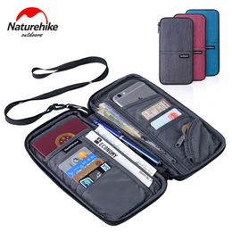 Naturehike Unisex Waterproof Multi Function Outdoor Sports Travel Wallet Bag For Cash Passport Cards Travel Hiking Purse - Campcrowd