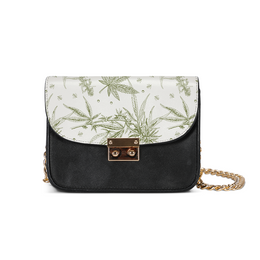 SoStoned.Co CANNABIS Print II Small Shoulder Bag | shopcontrabrands.com