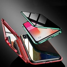 Anti-peeping double-sided magnetic mobile phone case - P&Rs House