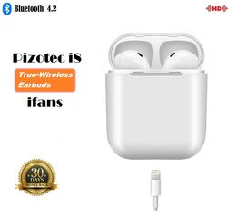 Pizotec TWS ifans i8 New Model, iPhone Charging Port w/ Case - Pizotec