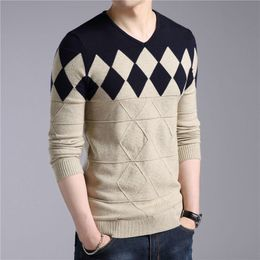 Argyle Cashmere-Wool Knitted Sweater - Barbaric Gentleman