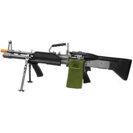A&K MK43 Full Metal Support Airsoft Rifle - Electric Airsoft Rifles