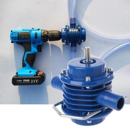 Heavy Duty Self-Priming Hand Electric Drill Water Pump Home Garden Centrifugal - www-kitchen-bath-com