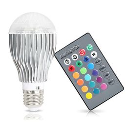Magic Color Changing LED Light Bulb with Remote Control - etisk ventures pvt ltd