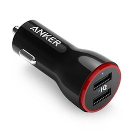 Anker 24W Dual USB Car Charger, PowerDrive 2 - Cars 1 Stop