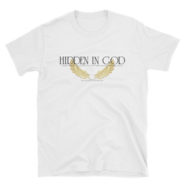 Basic White Hidden In God Tee - Hidden In God