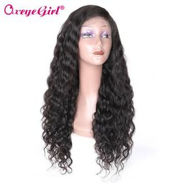 Water Wave 360 Lace Frontal Wig Curly Hair - oxeye-girl-human-hair-store