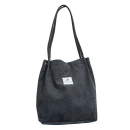 Corduroy Cutie Casual Shoulder Tote - Iconic Style Inc