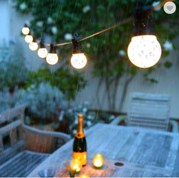 16ft  Festoon Decoration Globe string light with connection - fablights decor