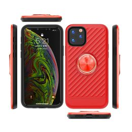 Apple IPhone 11 Pro Max Case with Ring Holder In Red - Rector Direct