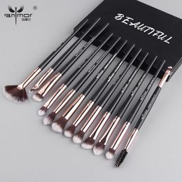 Anmor Makeup Brushes Set 12 pcs - Syndicate Production